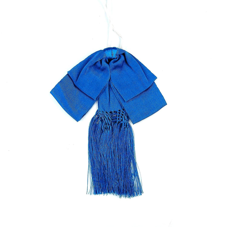 Pajarita mexicana de color azul con banda elástica: Amazon.es ...