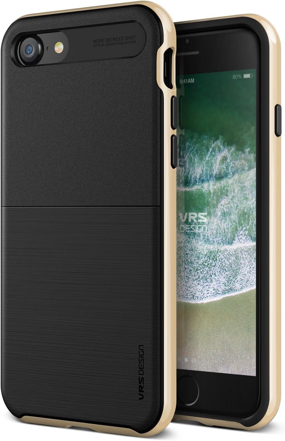iPhone SE (2020) / 8 / 7 Case, VRS DESIGN [High Pro Shield] Shockproof Shine Gold