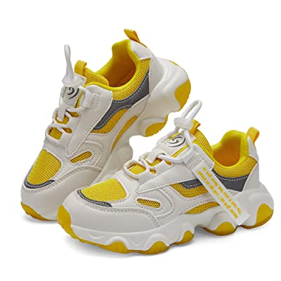 Kids Sneakers Lightweight Mesh Running Tennis Shoes for Boys Girls Hiking