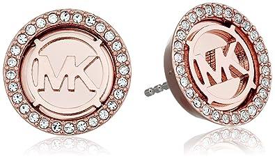 ccf90f94e66fb Amazon.com  Michael Kors Rose Gold Tone Stud Earrings  Jewelry