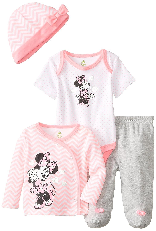 Disney Baby Girls Minnie Mouse 4 Piece Gift Set