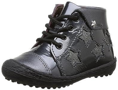 8 Filante Mod8 Basses Bébé À Lacets Chaussures Fille Noir HWvqwgU