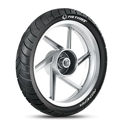 TVS Tyres ATT 455R 130/70-17 62P Tubeless Bike Tyre, Rear, Black