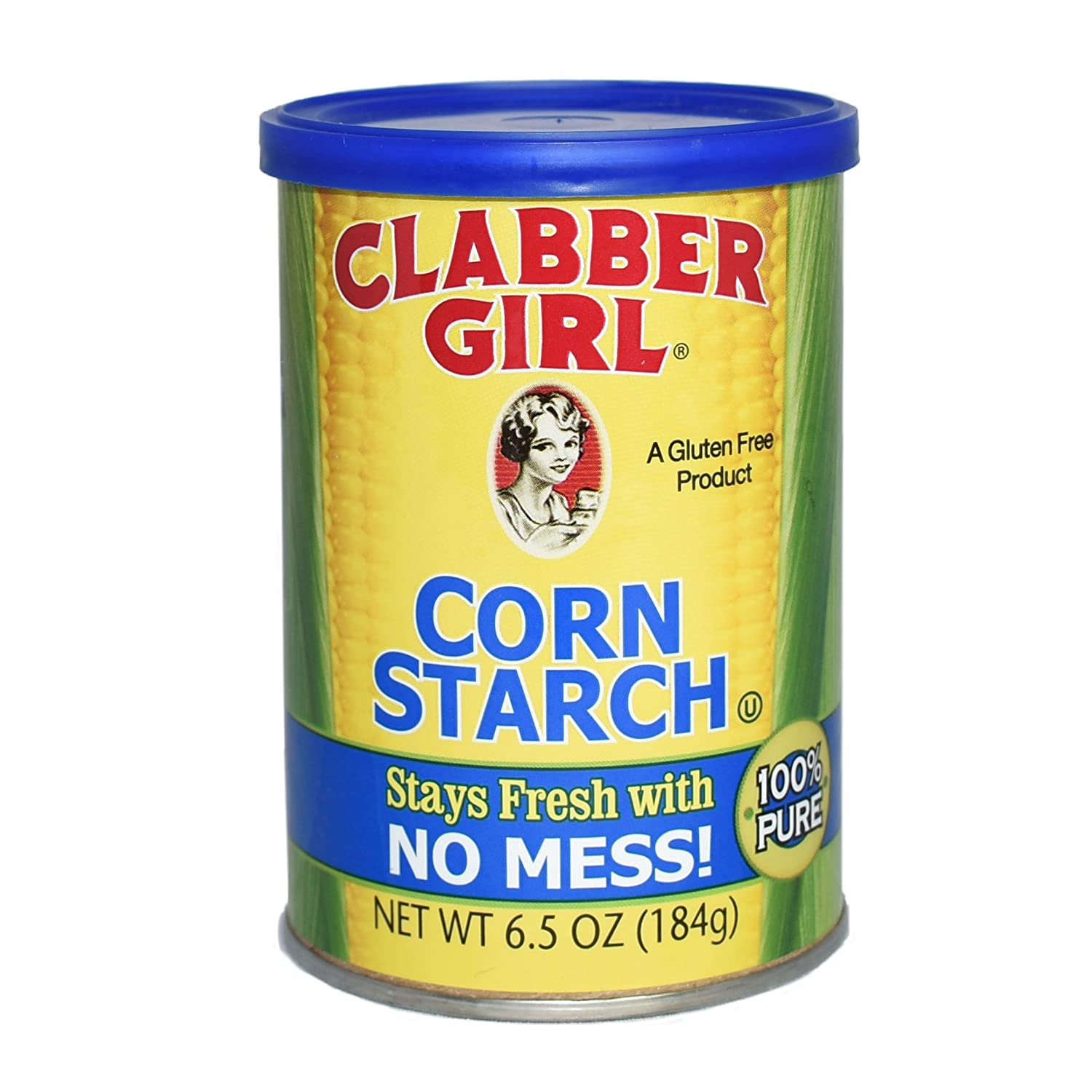 Clabber Girl Corn Starch, 6.5 Ounce