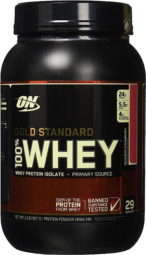 Optimum Nutrition WHEY GOLD STANDARD - fresa - 908gr