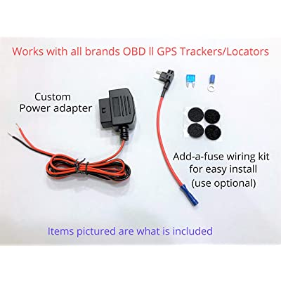OBD ll GPS Tracker Hide/Relocate Wired Conversion kit Power Adapter: GPS & Navigation