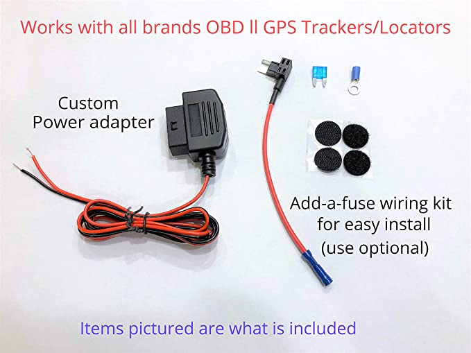 [DIAGRAM_3US]  Amazon.com: OBD ll GPS Tracker Hide/Relocate Wired Conversion kit Power  Adapter: GPS & Navigation | Ac Adapter Wiring |  | Amazon.com