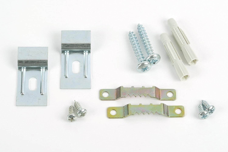 Amazon.de: Aufhänger, Zackenaufhänger-Set mit höhenverstellbaren ...
