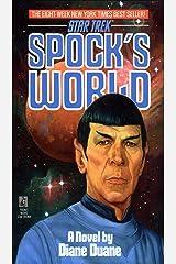 Spock's World (Star Trek: The Original Series) Kindle Edition