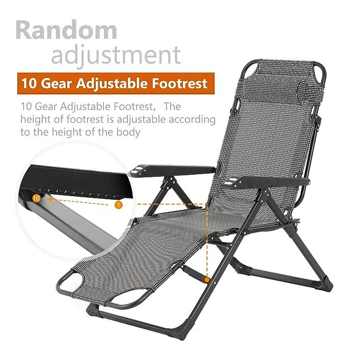 Amazon.com: Mecor - Sillones reclinables y plegables para ...