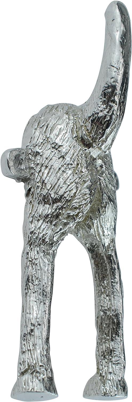 Pirantin Dog Bum Tail guinzaglio o Appendiabiti per Cane Realizzato in Metallo e lucidato per Una brillantezza