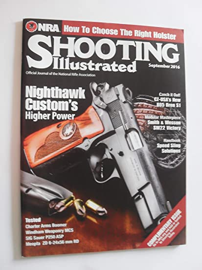 8441704ba0b Amazon.com   shooting illustrated magazine (September 2016)   Everything  Else