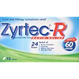 Zyrtec R Tablet, 10ct