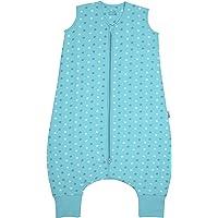 Schlummersack Saco de Dormir con pies Ligeramente Forrado para el Verano en 1.0 TOG, 24-36 meses/100 cm