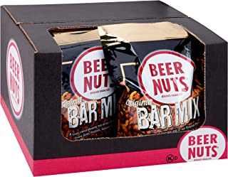 product image for BEER NUTS Original Bar Mix - 32 oz Resealable Bag (Pack of 8), Pretzels, Cheese Sticks, Sesame Sticks, Roasted Corn Nuts, and Original Peanuts
