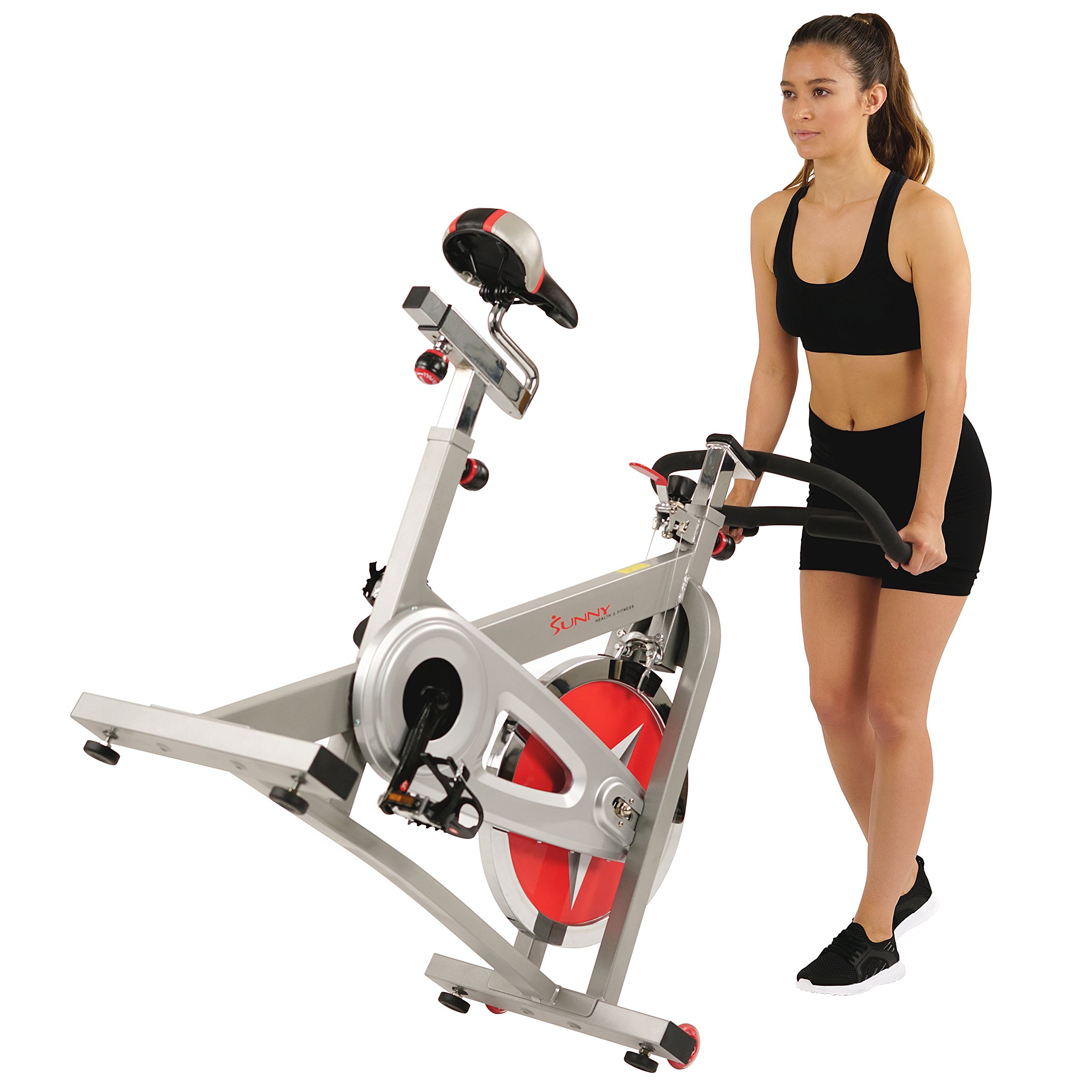 Sunny Health & Fitness Pro Indoor Cycling Bike by Sunny Health & Fitness (Image #14)