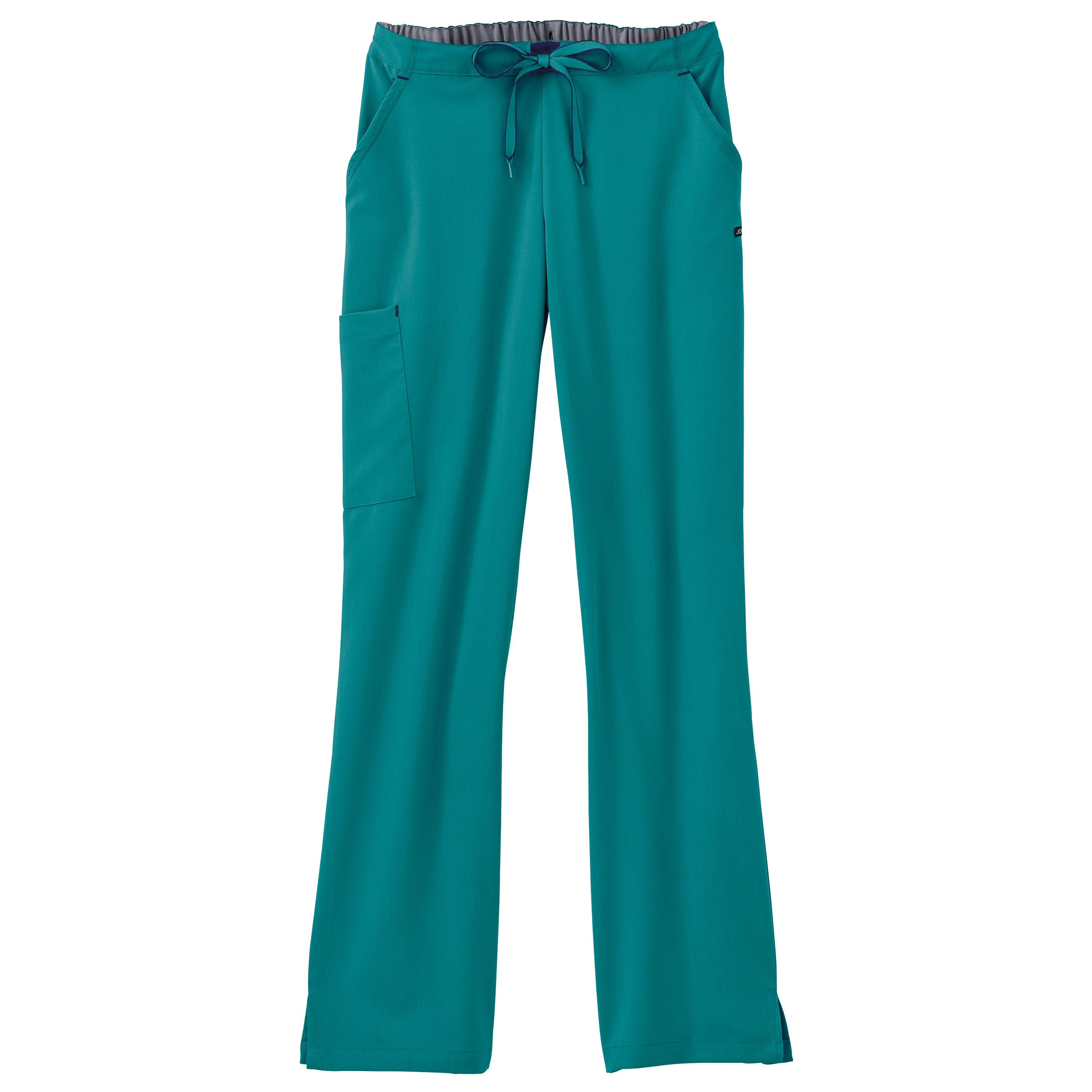 Modern Fit Collection by Jockey Women's Convertible Drawstring Scrub Pant Small Teal