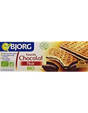 Bjorg Biscuits Fourrés au Chocolat Noir Bio 225 g