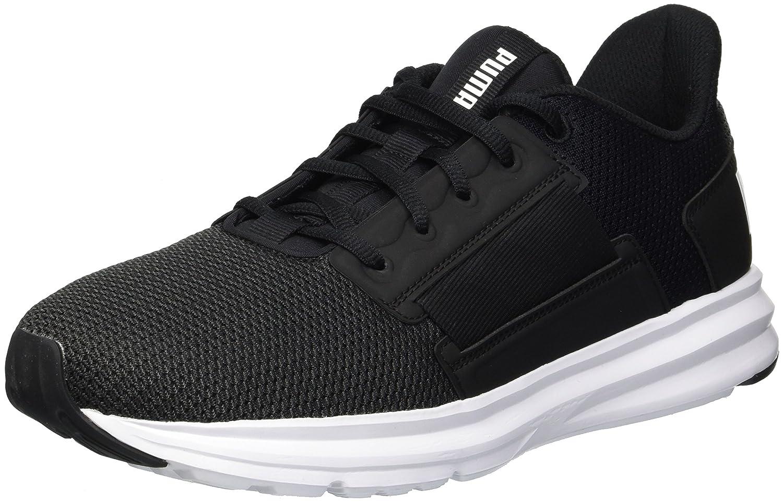 【ラッピング不可】 Puma Men's Shoe Enzo Street Ankle-High Puma Running Shoe 12 D(M) Black-puma US Puma Black-puma White B077VLVZKM, ホテル旅館洗剤専門店スリーエス3S:6b0488c7 --- lightinglogistics.co.za