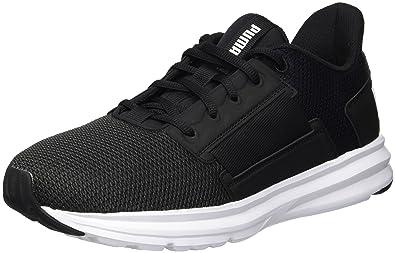 5df50ec8ba0b PUMA Men s ENZO Street Sneaker Black White