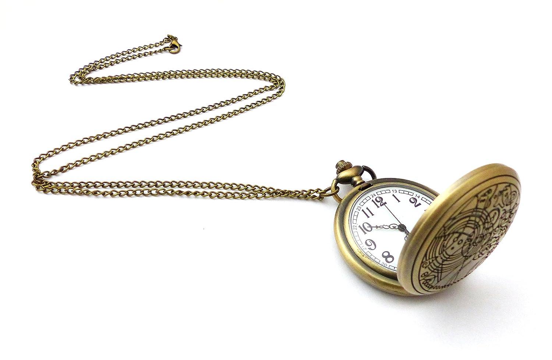Collar Gallifreyan - Doctor Who - Reloj: Amazon.es: Joyería