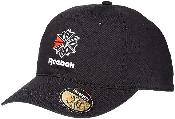 Reebok Men Snapback Caps Classic Black Adjustable  Amazon.co.uk ... f497c0aadc6