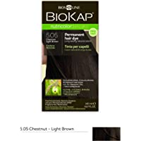 BioKap Nutricolor Delicato 5.05 Chestnut Light Brown, 140 milliliters