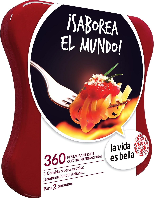 LA VIDA ES BELLA - Caja Regalo - ¡SABOREA EL MUNDO! - 360 restaurantes de cocina internacional