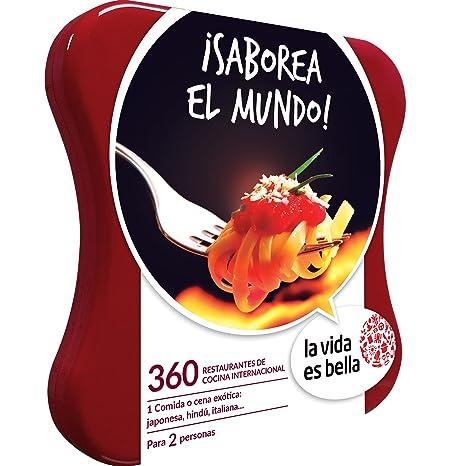 LA VIDA ES BELLA - Caja Regalo - ¡SABOREA EL MUNDO! - 360 restaurantes