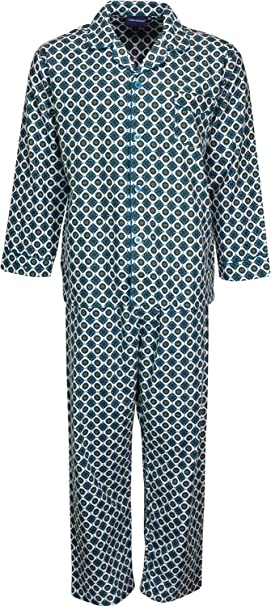 Para hombre cepillado algodón pijama conjunto ropa de dormir Pijama de franela s m l xl XXL 3