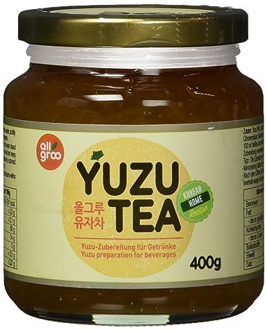 ALLGROO Yuzu- Tee, 4er Pack (4 x 400 g): Amazon.de: Lebensmittel ...