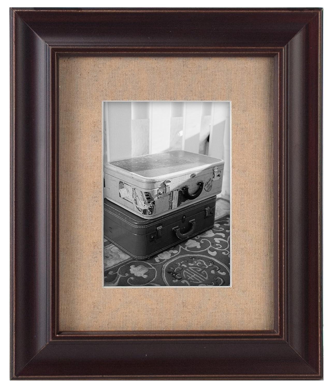 White 2136-80 Malden International Designs Barnside Portrait Gallery Textured Mat Picture Frame 8x10//11x14