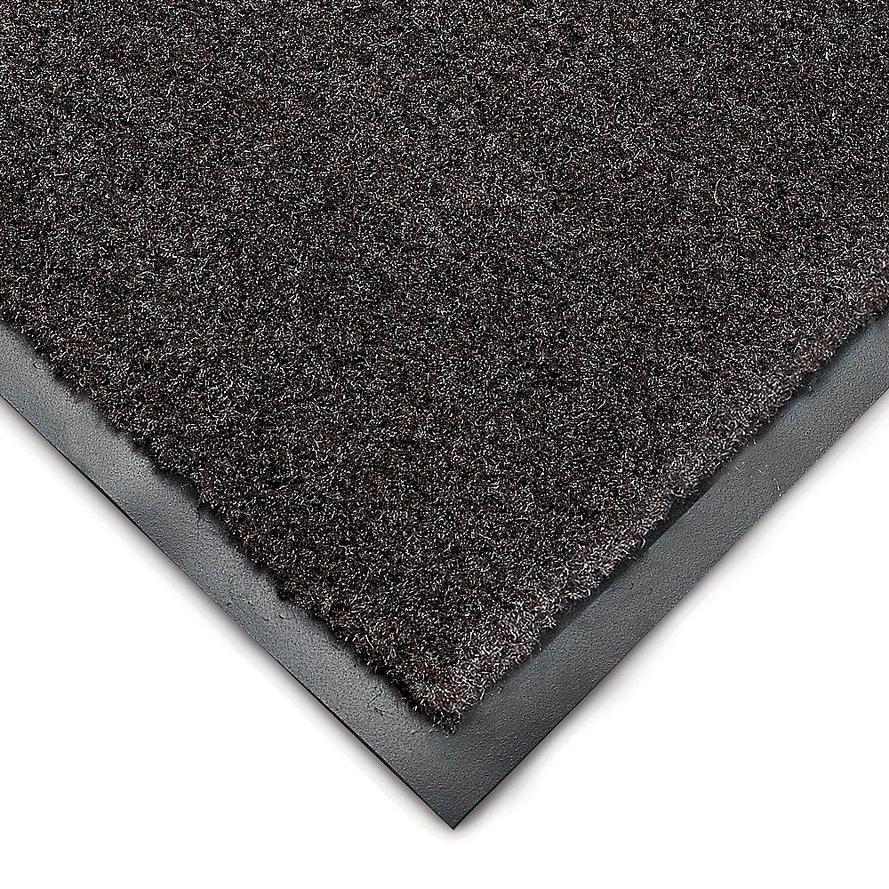 WEARWELL 211.38X4X6BK Elite Super Olefin Mat, Pre-Cut Size, 4' x 6', Black