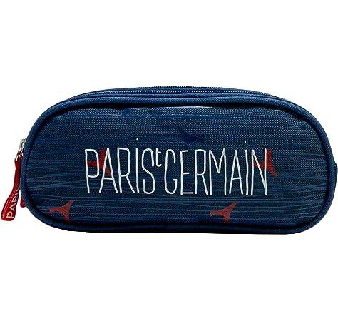 Paris Saint Germain - Estuche escolar, producto oficial: Amazon.es: Oficina y papelería