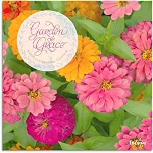 DaySpringJ0067 Garden of Grace - 2020 Wall Calendar, 12 inch x 12 inch