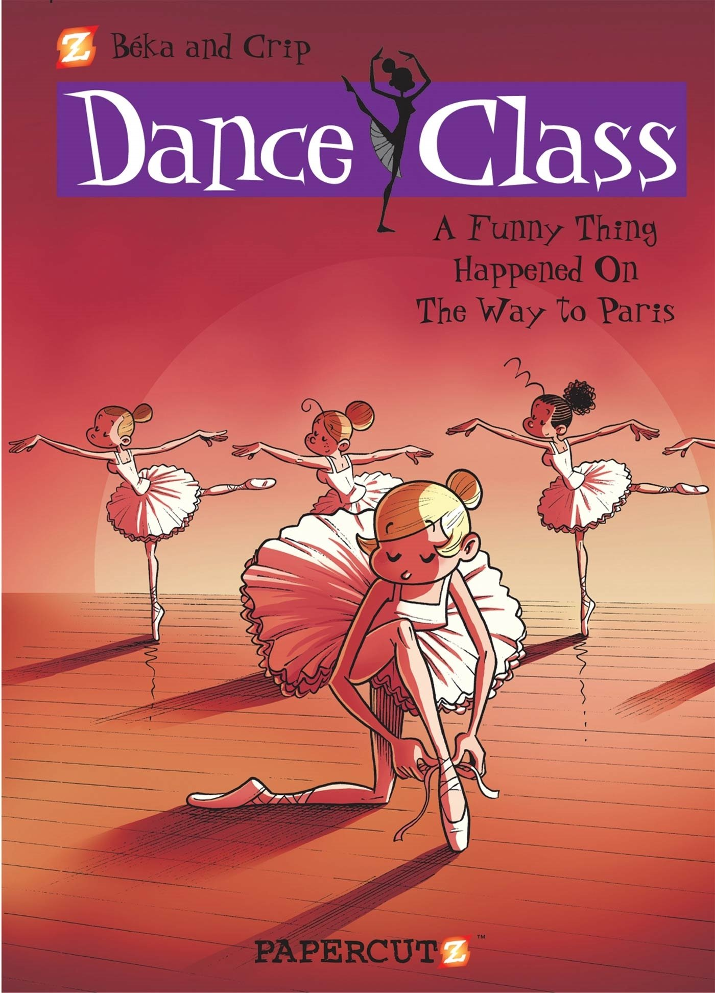 Download Dance Class #4: A Funny Thing Happened on the Way to Paris... (Dance Class Graphic Novels) ebook