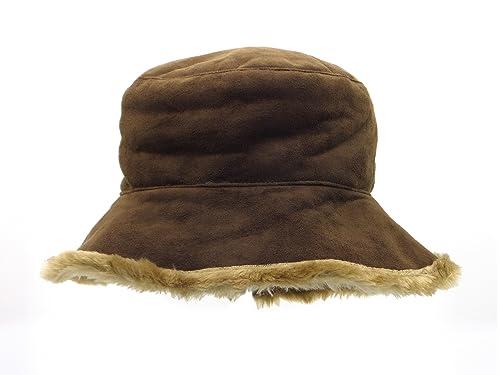 Cappoellas Sombrero simil mouton Marron