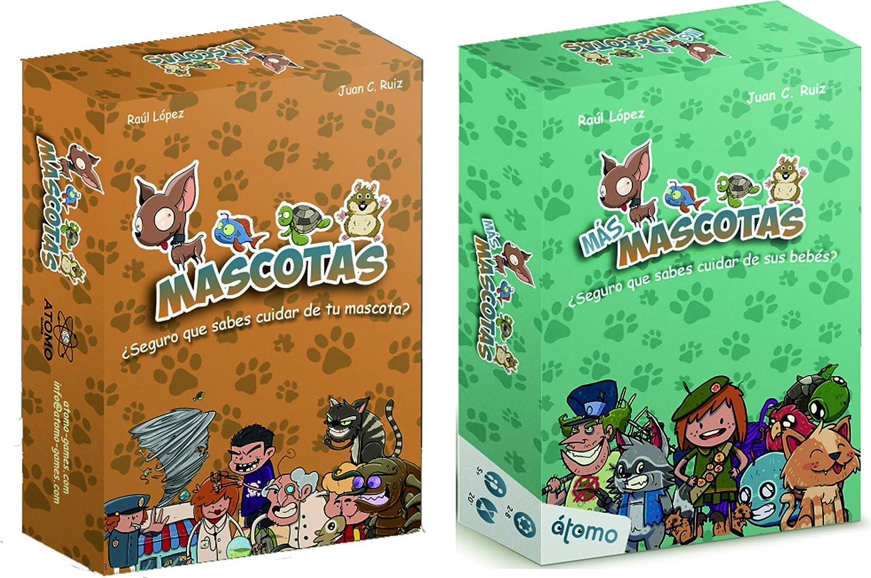 Átomo Games Pack Mascotas + Expansión Más Mascotas: Amazon.es: Juguetes y juegos