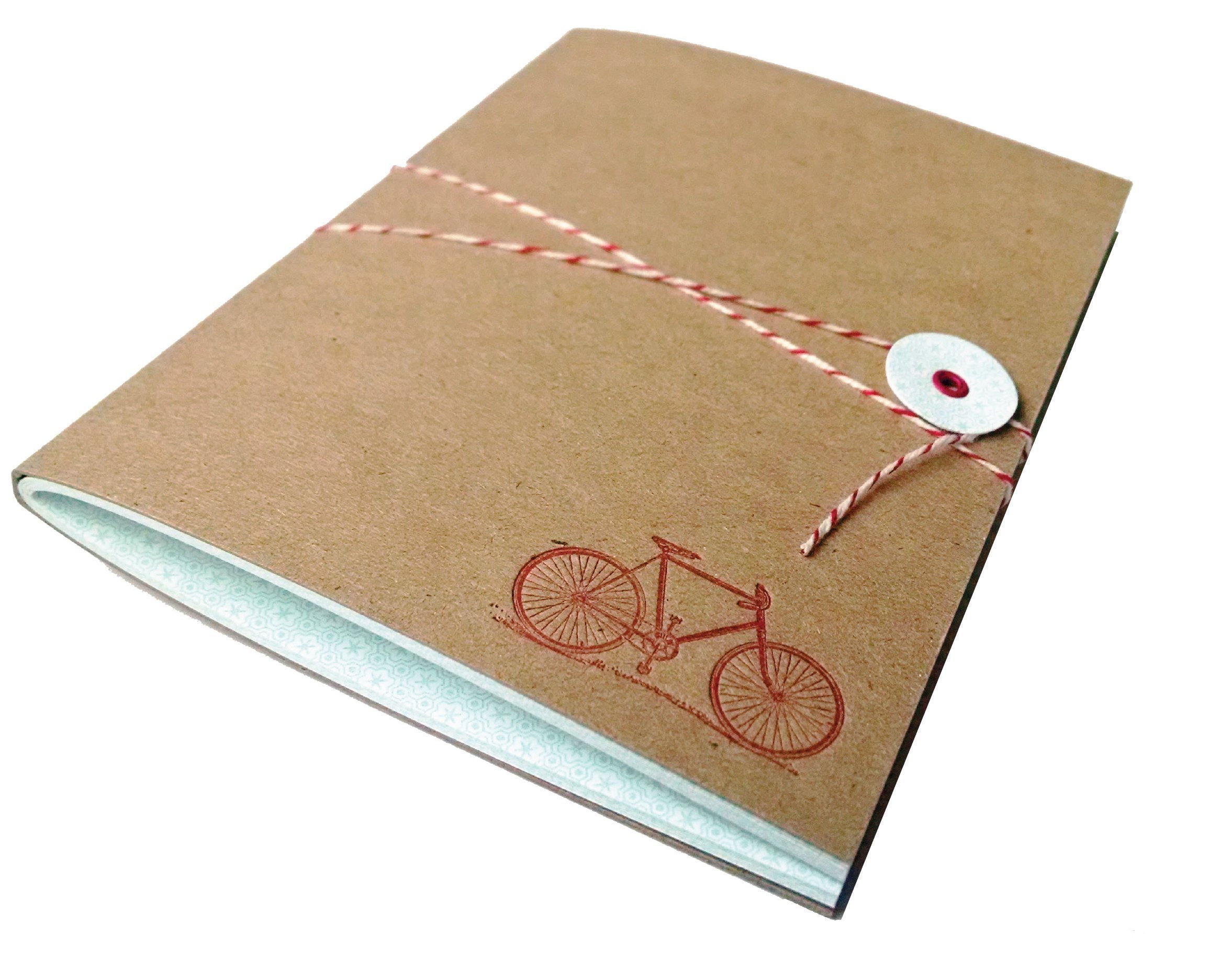 Bicycle Journal with Bakers Twine