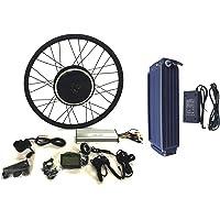 48V1500W Hub Motor 20AH Samsung ICR18650 22P Li-on Batterie vélo électrique moteur Kit de conversion pour cyclisme + LCD + Tire Theebikemotor