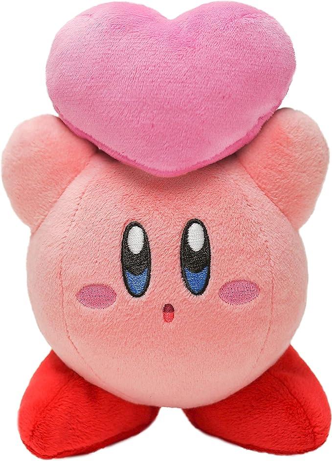 Kirby stuffed Kirby throwing Friends Heart