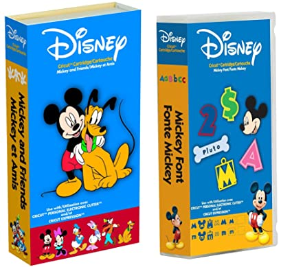 Cricut Disney Cartridge: Bundled Mickey and Friends & Mickey Fonts