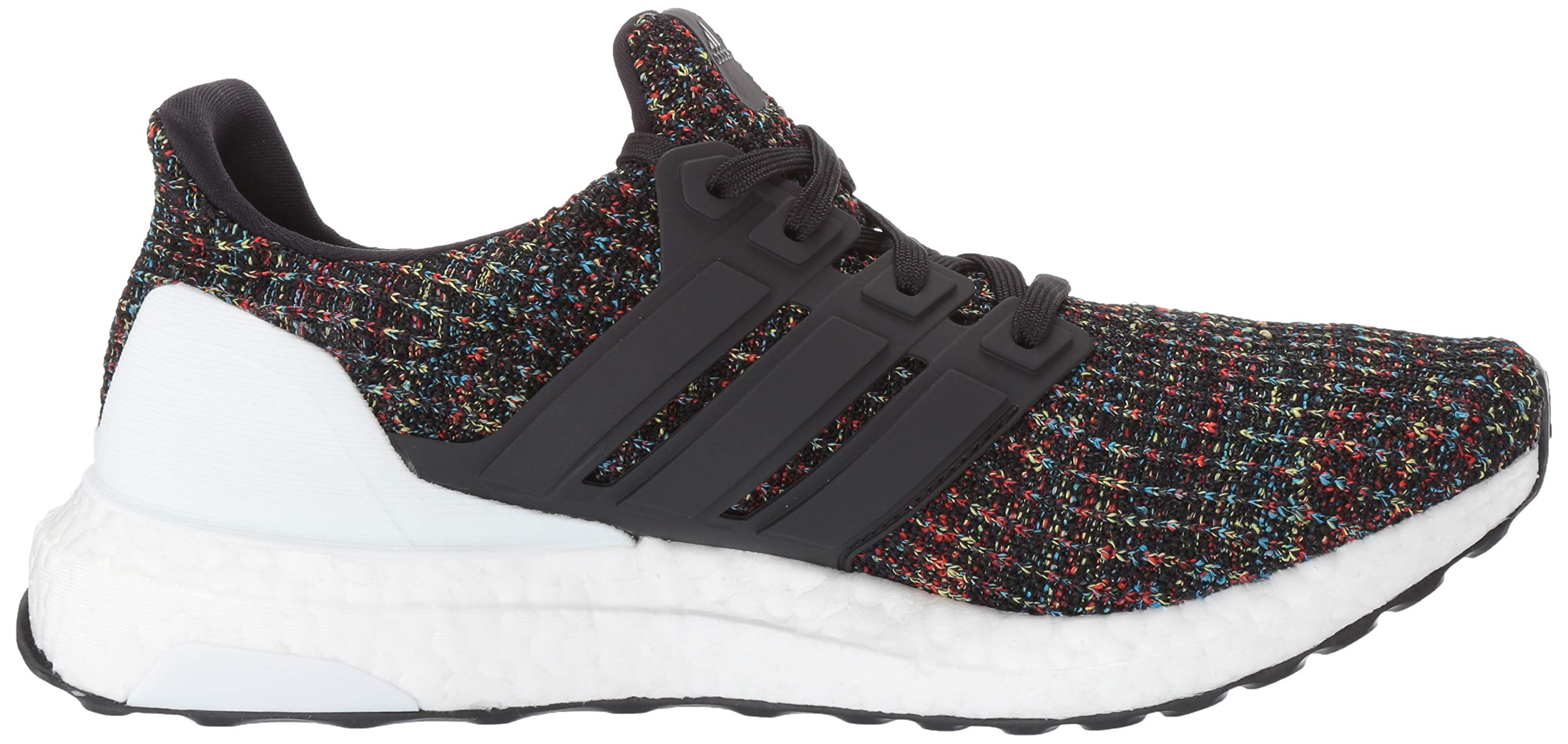adidas Unisex Ultraboost, Black/White/Active red, 4 M US Big Kid by adidas (Image #7)