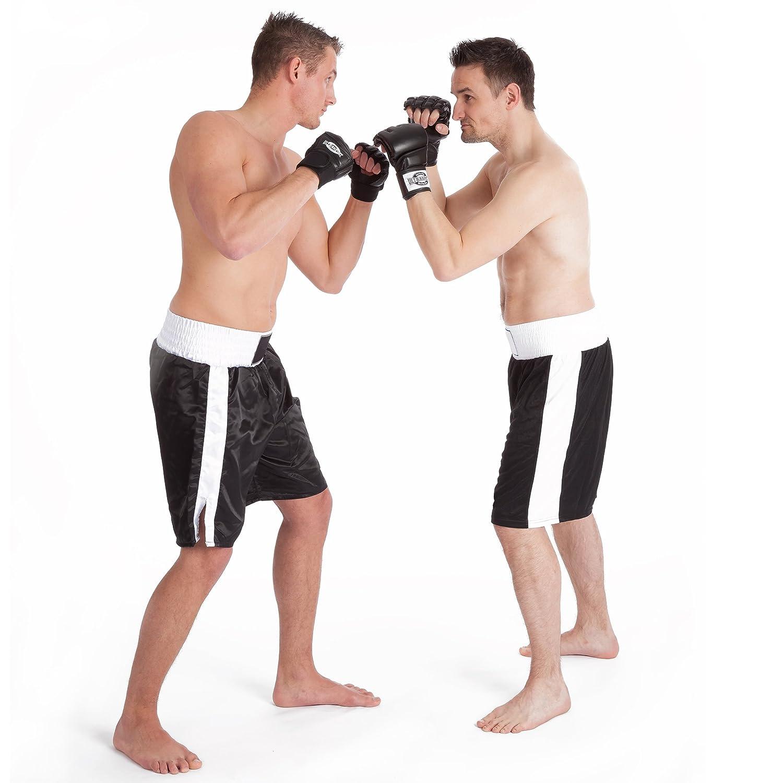 Ultrasport Grappling Guantes MMA Serie Boxing Gear Forma ergon/ómica con Protecciones en los Nudillos y en el Dorso