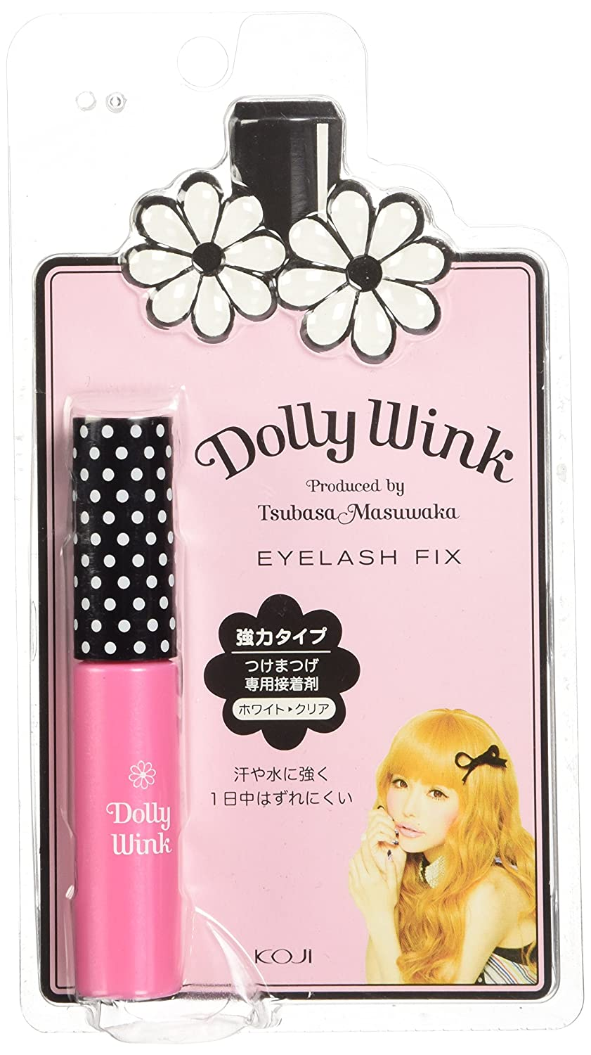 da9eeafb3d4 Amazon.com : Koji Dolly Wink Eyelash Fix Glue : Fake Eyelashes And  Adhesives : Beauty