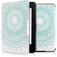 kwmobile Funda para Amazon Kindle Paperwhite - Carcasa para e-Reader de [Cuero sintético] - Case con diseño de Sol hindú (para Modelos hasta el 2017)