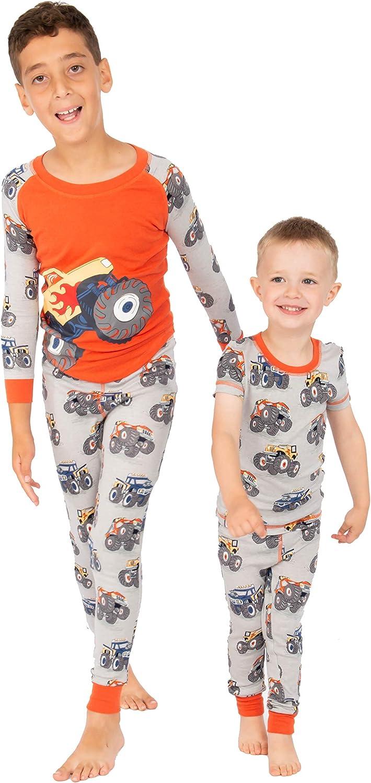 Munki Boys' Snug Fit 3 It is very popular Long John Set Pj Piece Max 68% OFF