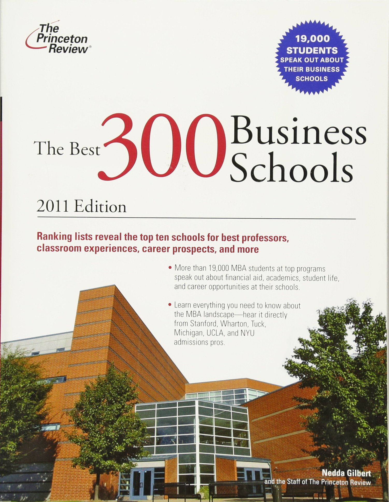 The Best 300 Business Schools, 2011 Edition (Graduate School Admissions Guides) PDF