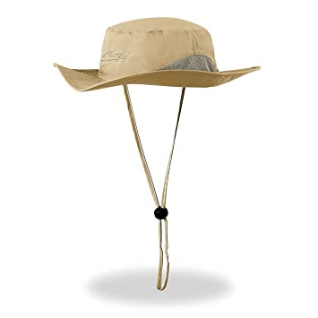 77f87e89 Amazon.com : Outdoor Sun Hat Fishing Cap for Men & Women Perfect for Fishing  Hiking Walking Mowing Gardening Boating Yard work UPF & Breathable : Sports  & ...