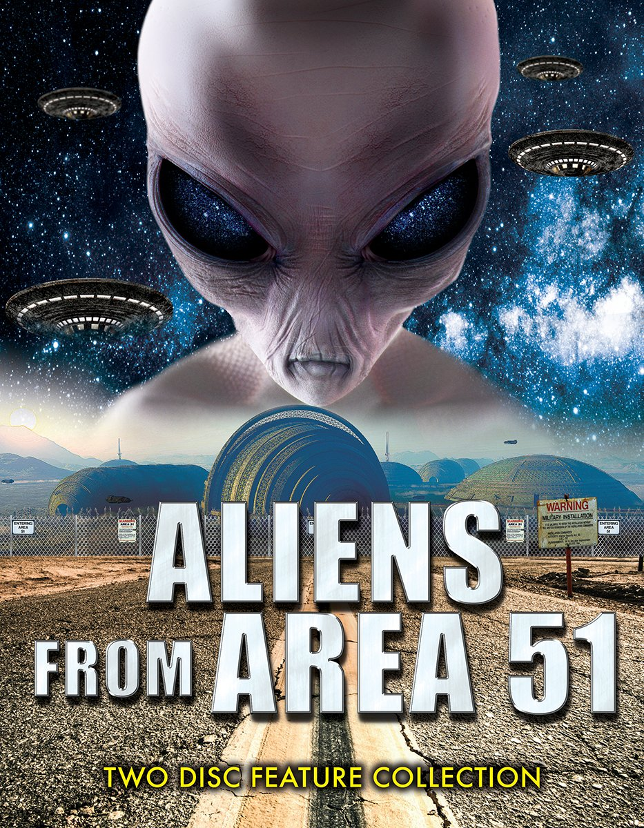 ALIENS FROM AREA 51 (2PC)